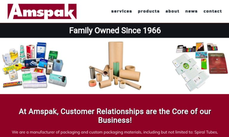 AMSPAK, American Spool & Packaging, Inc.