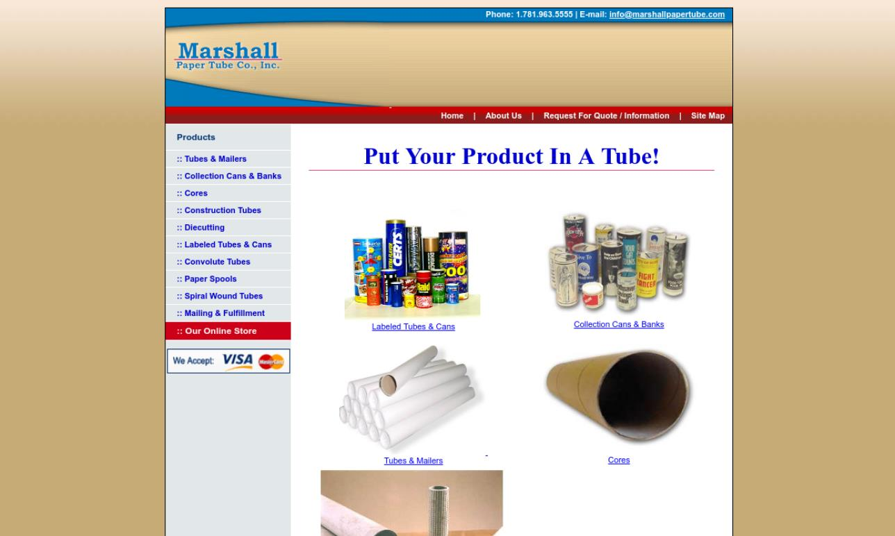 Marshall Paper Tube Company, Inc.