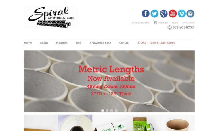 Spiral Paper Tube & Core Co., Inc.