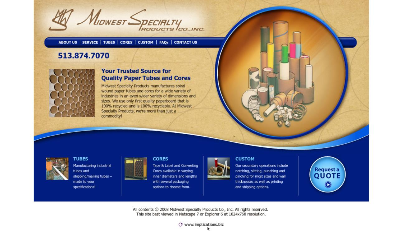 Midwest Specialty Products Co., Inc.