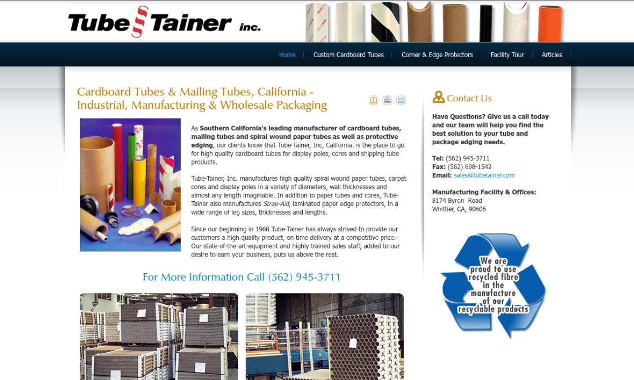 More Paper Tube Manufacturer Listings