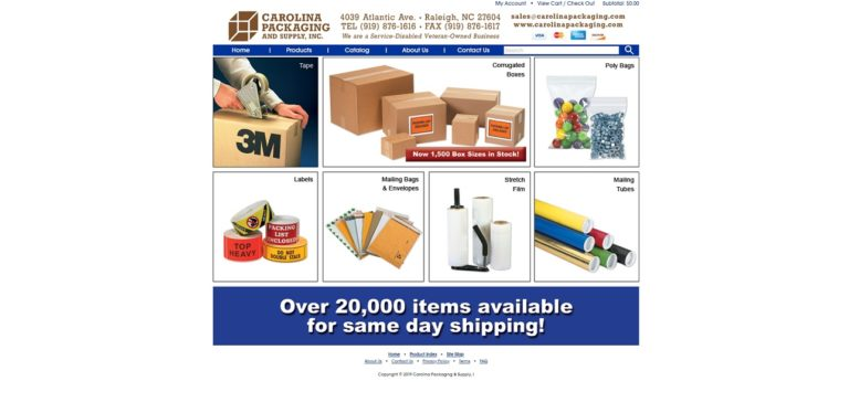 Carolina Packaging & Supply, Inc.